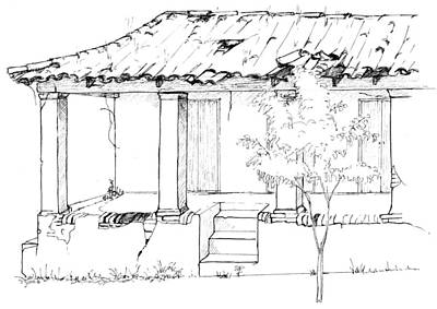 Drawing - Vinales by Sue Pownall