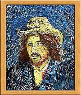 Self-portrait Digital Art - Vincent by Alessandro Della Pietra