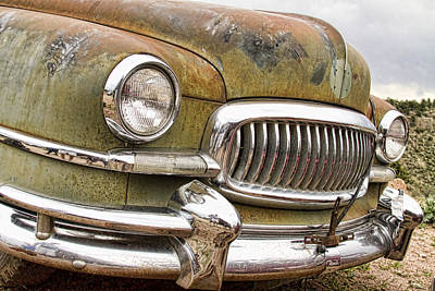 Photograph - Vintage 1951 Nash Ambassador Front End 2 by James BO  Insogna
