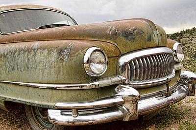 Photograph - Vintage 1951 Nash Ambassador Front End by James BO Insogna