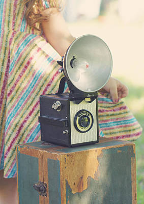 Ansco Photograph - Vintage Ansco Camera  by Susan Bordelon