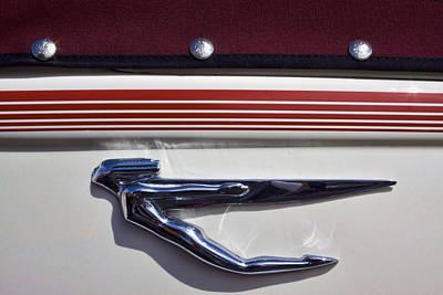 Mascot Photograph - Vintage Auburn Automobile Mascot by Carol Leigh