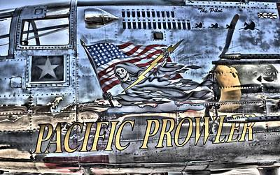 Photograph - Vintage B-25 Pacific Prowler by Lynnette Johns