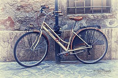Photograph - Vintage Bike by Nancy Morgantini