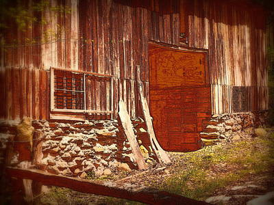 Photograph - Vintage Building by Cindy Wright