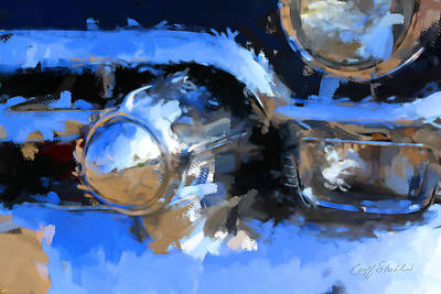 Digital Art - Vintage Cadillac Chrome by Geoff Strehlow
