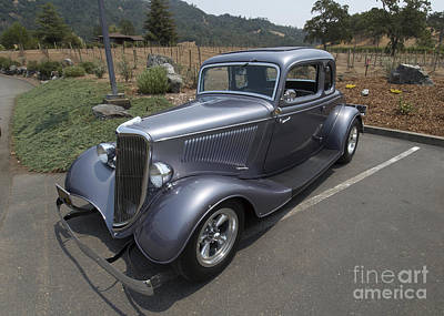 Vintage Car Alexander Valley Art Print