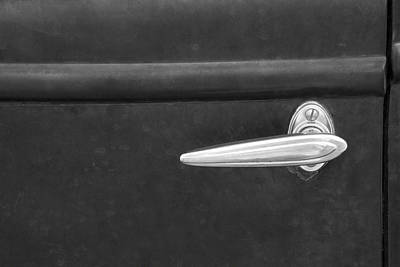 Vintage Car Door Handle Art Print