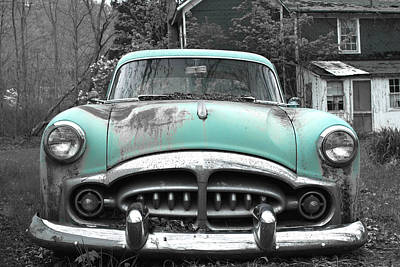 Photograph - Vintage Car by John Stephens