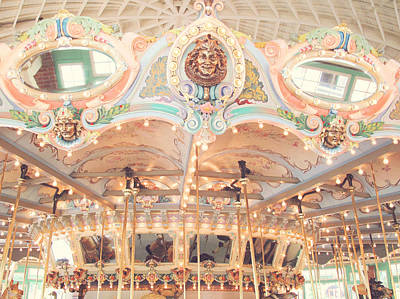 Glen Echo Park Photograph - Vintage Carousel by Carole Rockman