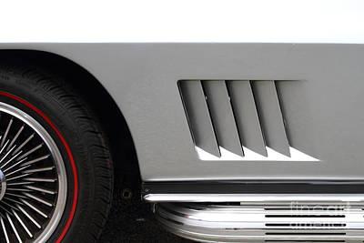 Photograph - Vintage Chevrolet Corvette 7d15181 by Wingsdomain Art and Photography