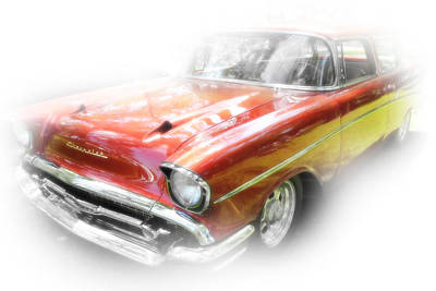 Photograph - Vintage Chevy by Anthony Rego