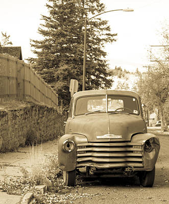 Daysray Photograph - Vintage Chevy  by Fran Riley