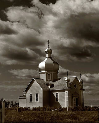 Nude Native Men Photograph - Vintage Church by The Artist Project