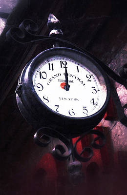 Photograph - Vintage Clock by Tony Grider