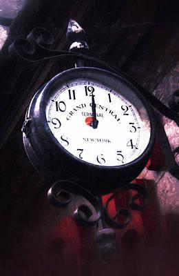 Photograph - Vintage Clock by Tony Grider