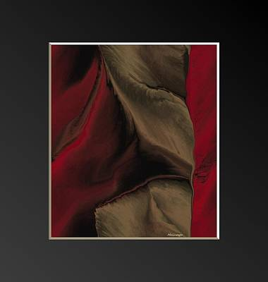 Vintage-cloth 3 Art Print by Ines Garay-Colomba