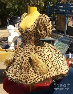 Vintage Dress At Flea Market Art Print by Lainie Wrightson