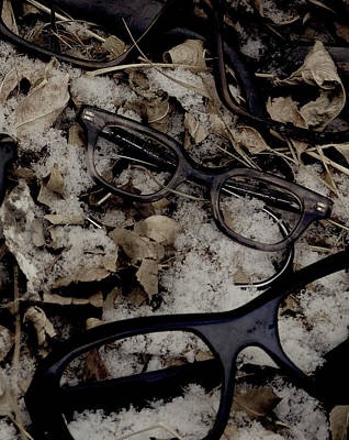 Janet Smith Photograph - Vintage Eyeglasses by Janet Smith