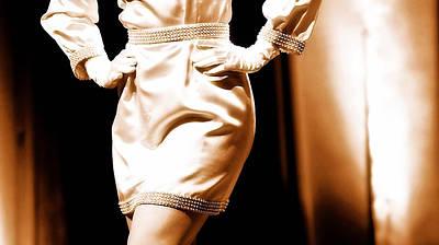 Photograph - Vintage Fashion  by Elizabeth Hart