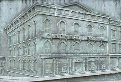 Claude Monet - Vintage Firehouse by Cindy Lindow