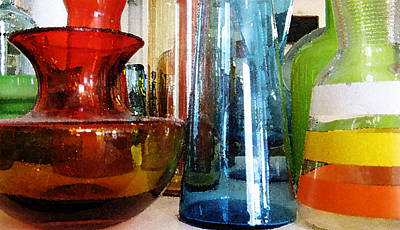 Photograph - Vintage Glassware by Rich Franco
