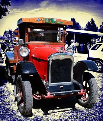 Photograph - Vintage International Truck 2 by Fran Woods
