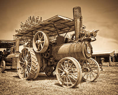 Photograph - Vintage Iron by Steve McKinzie