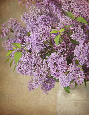 Art Print featuring the photograph Vintage Lilac by Cheryl Davis
