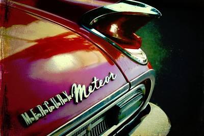 Vintage Mercury Meteor Art Print