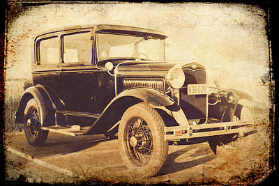 Photograph - Vintage Model A by Joel Witmeyer