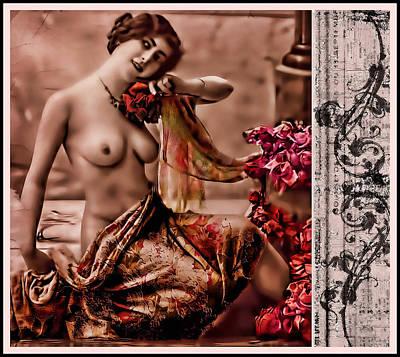 Photograph - Vintage Muse by Mary Morawska
