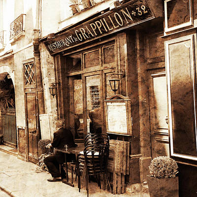 Photograph - Vintage Paris 2 by Andrew Fare
