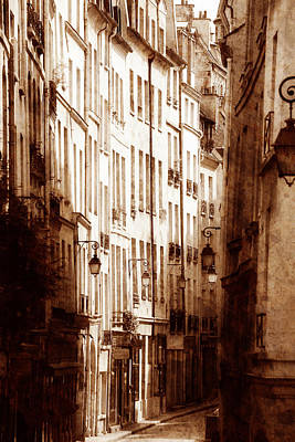 Photograph - Vintage Paris 6 by Andrew Fare