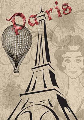 Photograph - Vintage Paris by Greg Sharpe
