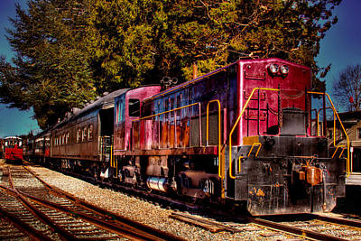 Photograph - Vintage Passenger Train II by David Patterson