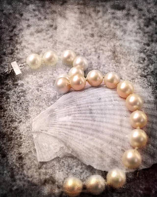 Photograph - Vintage Pearls by Jai Johnson