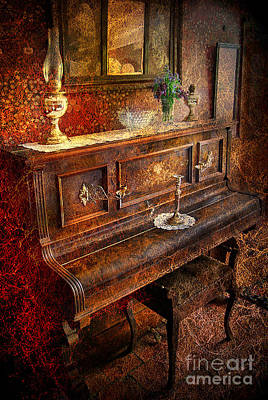 Photograph - Vintage Piano by Yhun Suarez