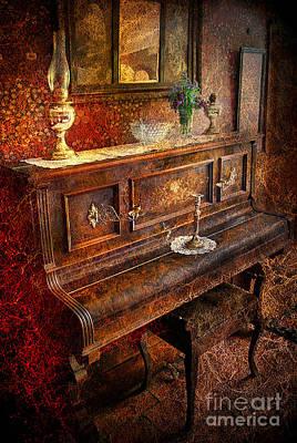 Photograph - Vintage Piano by Yhun Suarez