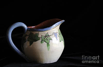 Photograph - Vintage Pitcher  by Nancy Greenland