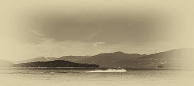 Seascapes Photograph - Vintage Priest Lake Idaho by David Patterson