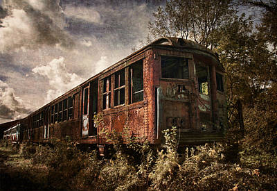 Photograph - Vintage Rail Car by Dale Kincaid