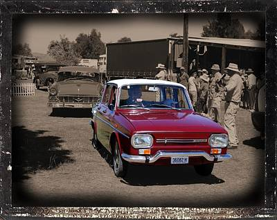 Photograph - Vintage Renault Car by Fran Woods