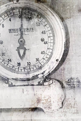 Photograph - Vintage Scale 2 by Traci Cottingham