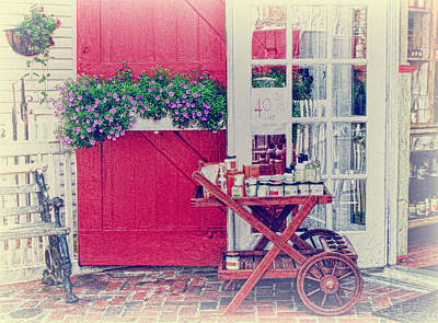 Vintage Store Art Print by Kim Hojnacki