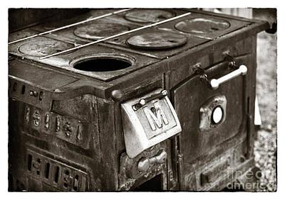 Photograph - Vintage Stove by John Rizzuto