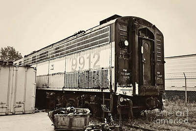 Photograph - Vintage Train Boxcar by Cheryl Davis