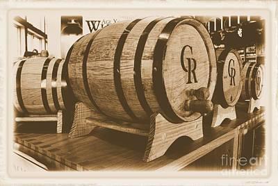 Winery Digital Art - Vintage Winery Photo by Marsha Heiken