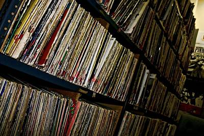 Photograph - Vinyl Days by Kim Wilson