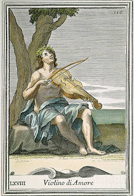 Viola Damore, 1723 Art Print by Granger